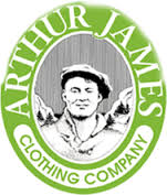 Arthur James Clothing Co. logo